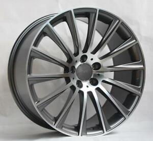 20 Wheels For Mercedes S550 Standard Sport 2007 13 staggered 20x8 5 9 5