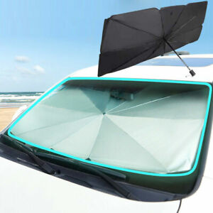 Foldable Car Windshield Sunshade Front Window Cover Visor Sun Shade Umbrella Usa