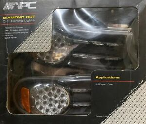 Apc Diamond Cut O e Parking Lights For 2007 2008 Toyota Fj Cruiser Free Shipping