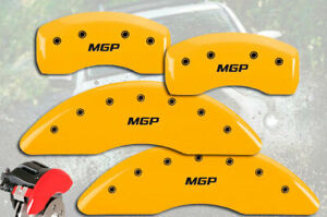 2014 2019 Toyota Highlander Front Rear Yellow Mgp Brake Disc Caliper Covers