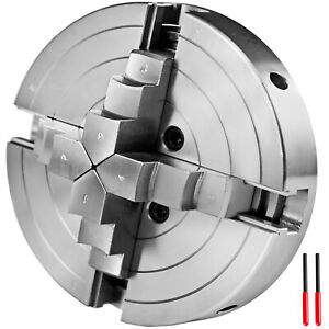 6 Lathe Chuck Self centering 150mm 4 Jaw For Cnc Milling Drilling Machine