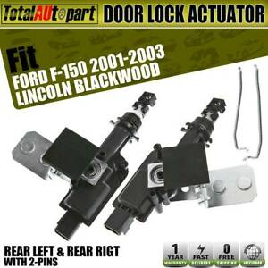2x Power Door Lock Actuator 2blades For Ford F 150 2001 2003 F 150 Heritage 2004