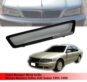 Front Bumper Mesh Grille Grill For Nissan Maxima Cefiro A32 Sedan 1995 1999