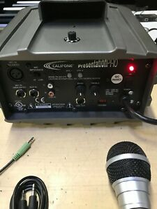 Big Bundle Califone Pa 300 uhf With Mic Lot And Stands All Tested