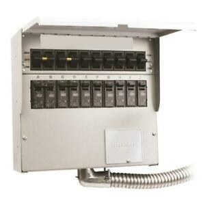 Reliance 510d 120 240 volt 50 amp 10 circuit Pro tran Indoor Transfer Switch