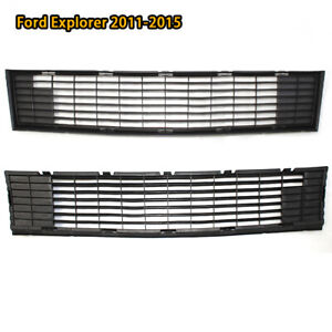 For 2011 2015 Ford Explorer Front Lower Bumper Grille Black Cover Bb5z 17k945 ba