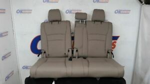 18 Honda Pilot Third Row Rear Seat Set Tan Leather