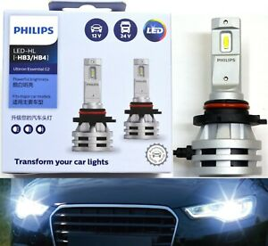Philips Ultinon Led G2 6500k White 9140 Two Bulbs Fog Light Replacement Upgrade