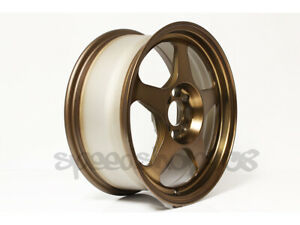 Rota Slipstream Wheels Sport Bronze Rims 16x7 40 4x100 67 Hub Civic Integra
