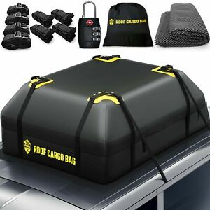 Toolguards Car Top Carrier Roof Bag 100 Waterproof With Protective Mat