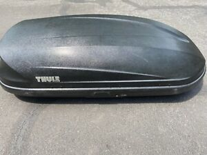 Thule Top Carrier Cargo Box With Mounting Hardware