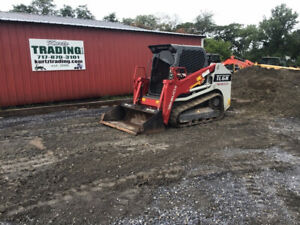 2019 Takeuchi Tl6r Compact Track Skid Steer Loader W Cab 2spd Clean 500hrs