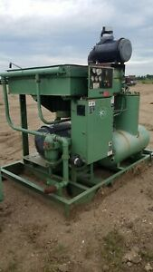 Sullair Ls20 100 100 Hp Rotary Screw Air Compressor Quanity 2