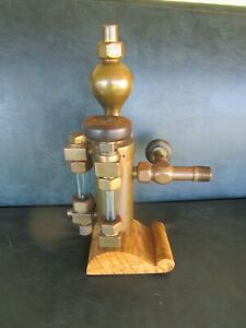 Antique Detroit Lubricator Steam Engine Oiler Hydrostatic 1800 s Steampunk