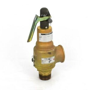 Kunkle Safety Relief Valve 1 1 4 150 Psi Pressure Relief