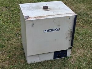 Precision No 51221126 Lab Oven 65c To 200c Heater Shop Used Drying Curing