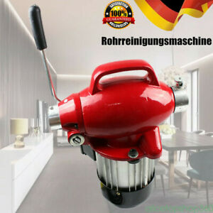 220v Spiral Pipe Drain Cleaner Cleaning Machine Electric Snake Sewer 400 U m Us
