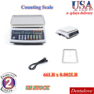 Portable 66lb X0 002lb Digital Counting Scales Electronic Balance Weight Gram