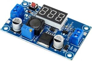 Lm2596 Buck Step down Power Converter Module Dc 2 5 40 To 1 25 37v Led Voltmeter