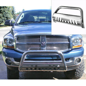 Stainless Bull Bar For 2009 2018 Dodge Ram 1500 Front Bumper Grille Guards