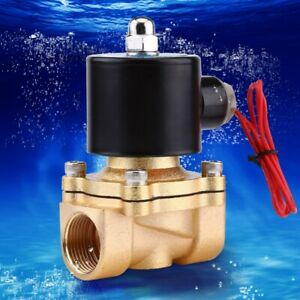 220v Electric Nc Solenoid Valve Magnetic Water Valve Air Normally Closed