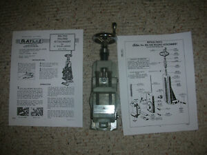 Atlas Craftsman 6 Inch Lathe M6 500 Milling Attachment With Jaws Instructions