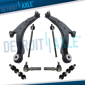 Front Lower Control Arms Tierods Sway Bars For Chrysler Pt Cruiser Dodge Neon