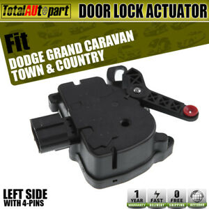 Door Lock Actuator Driver Side For Chrysler Town Country Dodge Grandcaravan
