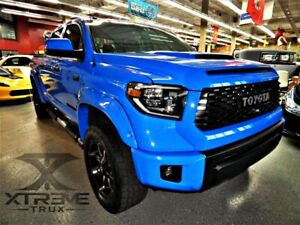 Fender Flares For 14 19 Toyota Tundra Paintable Black Pocket Rivet Wide Body Set