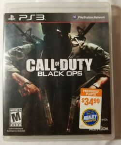 Call Of Duty: Black Ops For PlayStation 3 PS3 $15.00
