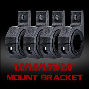 4x 2 Mounting Bracket Cage Tube Clamps Roll Bull Holder 1 1 5 Led Light Bar