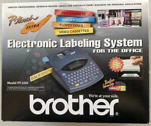 Brother P touch Extra Pt 330 Nib 3 Tz221 Tapes 1 Tz151 Tape All New