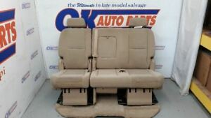 07 Gmc Yukon Xl Second Row Rear Bench Seat Tan Cloth