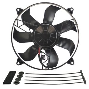 Derale 16918 12 High Output Ip 68 Electric Puller Fan New