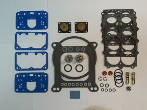 Holley 4150 Hp Series 390 1000 Cfm Double Pumper Deluxe Rebuild Kit Aed Qft