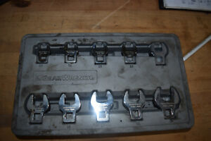 Gearwrench Metric Crow Foot Set