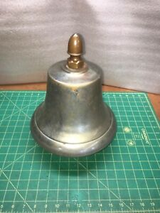 Large Vintage Bottom Mount Ship Bell H H