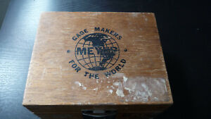 Meyer Makers Pin Gage Set M o 011 060 Plus In Wood Box