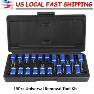 19pcs set Universal Electrical Terminal Block Release Connector Removal Tool Kit