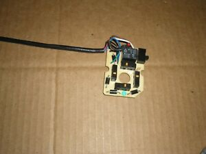 Partial Rebuild Oem Joystick Board For Western Fisher Plow Controller 56369 Pcb
