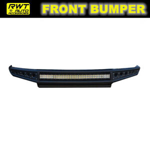 Fit 2014 2018 Chevy Silverado 1500 Off Road Steel Front Bumper W Led Light Bar