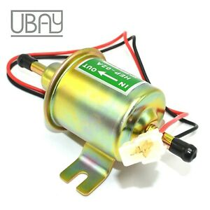 Inline Universal Electric Fuel Pump Gas Hep 02a Hep02a 12 Volt