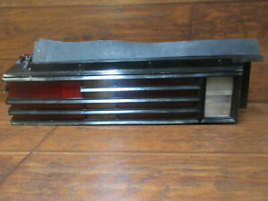 Pontiac Lemans Grand Am 1978 1979 Left Tail Light With Black Bezel