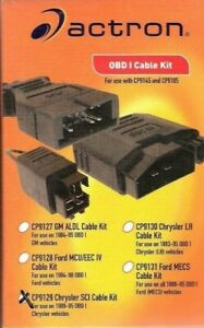 Actron Cp9129 Chrysler Sci Cable Kit For Use With 1989 95 Obd1 Chrysler Vehicles