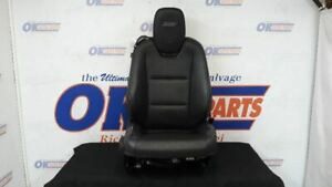 14 Chevy Camaro Front Right Passenger Power Seat Black Leather