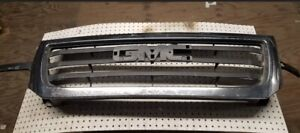 2003 2004 2005 2006 Gmc Sierra 1500 Upper Grille Gm1200475