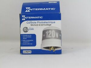 Intermatic Lc4521c Photo cell Photo control T Locking Type 120v 1000w