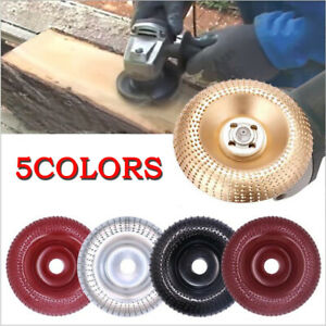 16mm Bore Wood Sanding Carving Shaping Disc For Angle Grinder Grinding Wheel