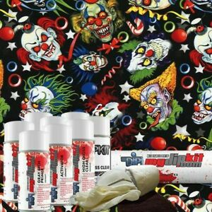 Hydro Dipping Water Transfer Printing Hydrographics Dip Kit Crazy Clowns Dd 945