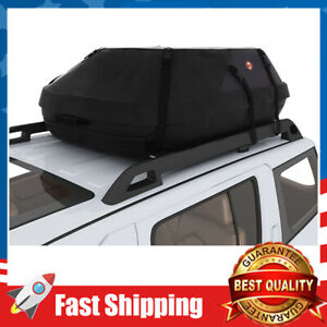 Car Roof Carrier Waterproof Soft Rooftop Bag Luggage Cargo 19 2 Cubic Feet